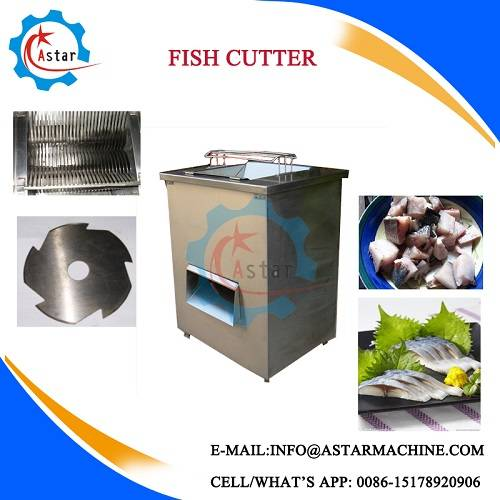 200-800kg/H High Output Fish Cutter/Fish Meat Cutter/Fish Slicer For Sale