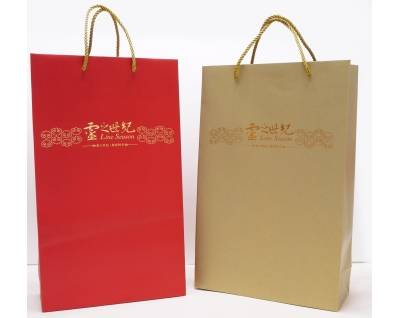 150g Art Paper Bag for Wine or Gift Box