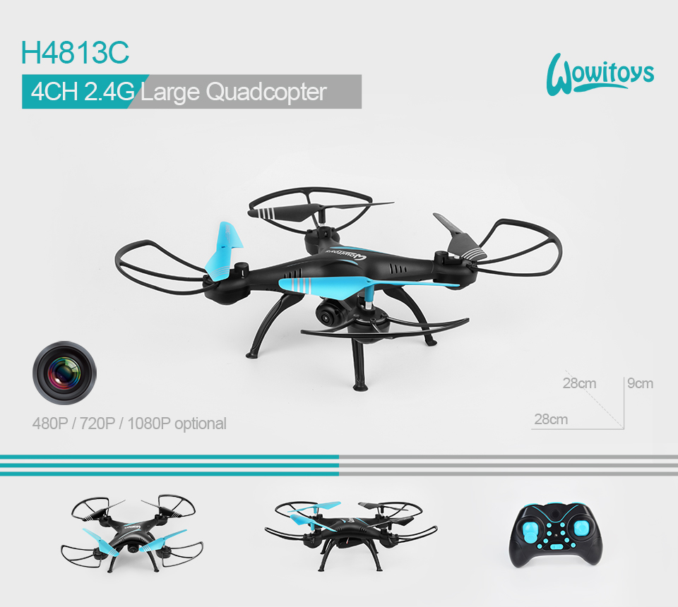 2.4G 4CH 6Axis Professional RC Drone and Quadcopter With HD Camera, cheap price