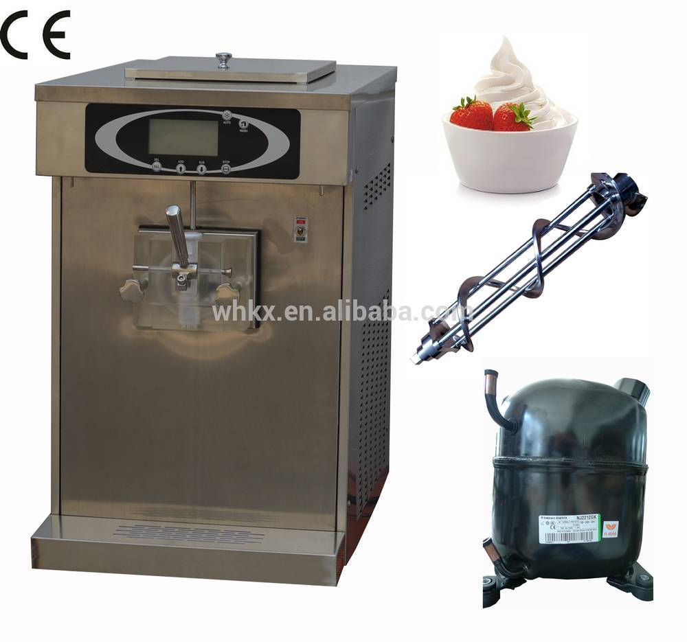 Double Compressor Ice Cream Machine with CE/ Low Noise