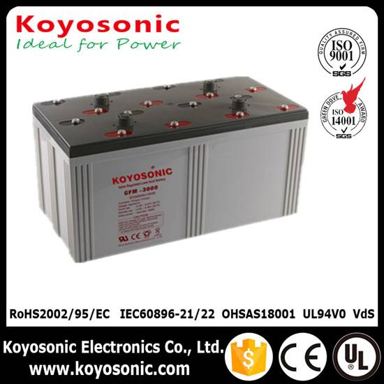 2V 3000Ah Sealed Lead Acid Battery Telecommunication Battery AGM Battery