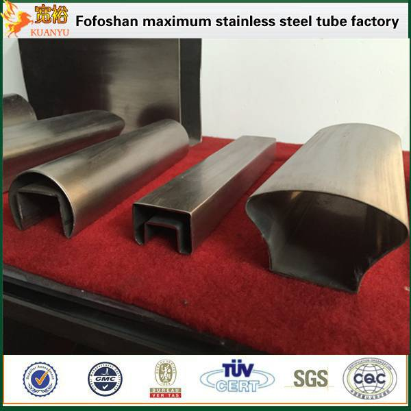 tp304 specially shaped stainless steel tubing for mechanical structure