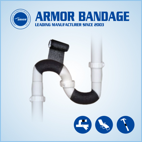 Pipeline Repair Bandage Pipe Fix Tape Water Oil Gas Pipe Fix Tape Made in China