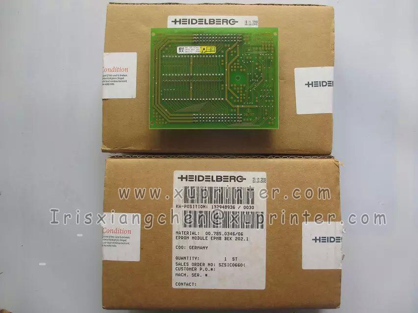Heidelberg EPROM Module EPMB BEK200.1, 00.785.1346, Heidelberg circuit board, Heidelberg press parts