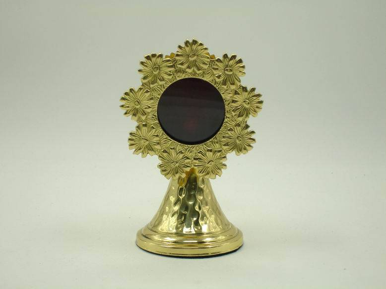 New Monstrance Gothic ornate Ostensorium very nice church article collection X32