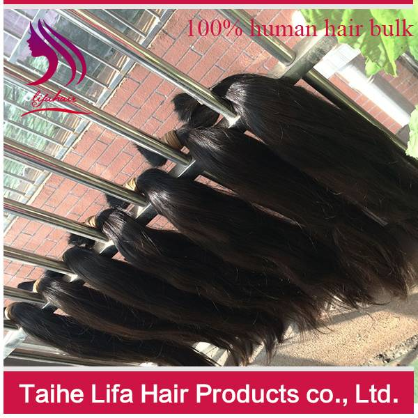 Top quality 100% full cuticle remy yes virgin hair bulk