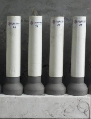 submerged entry nozzle used in steel factory