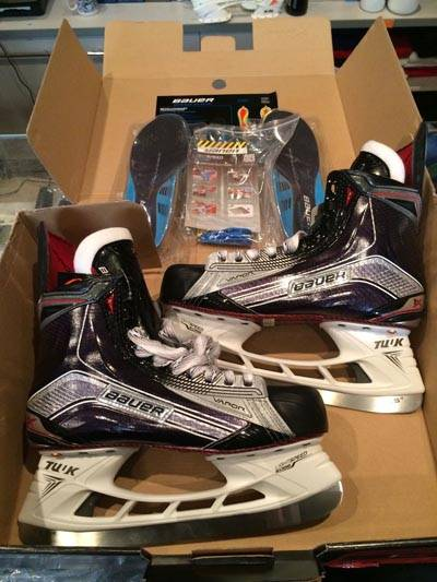 Brand new Bauer Vapor 1X SE and Black LE Ice Hockey Skates