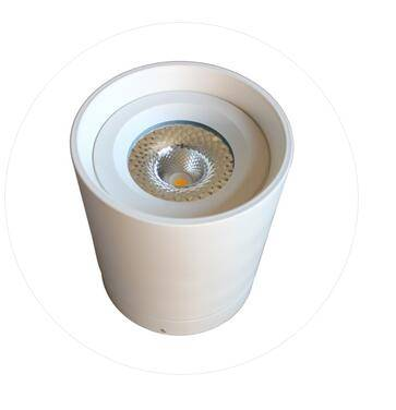 LED COB 10W 20W 30W High Power Round LED surface mounted Downlight