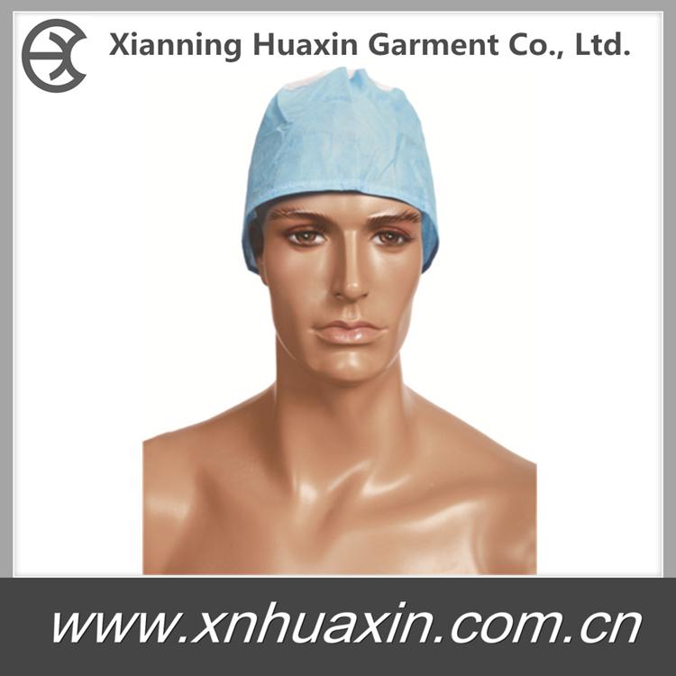 HXC-09/10:Doctor Caps with Elastic/Ties