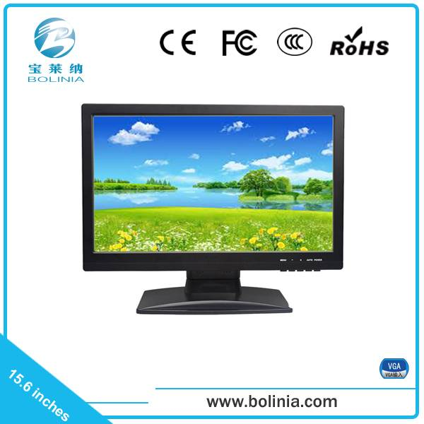 15.6 inch widescreen tft pc lcd monitor VGA interface