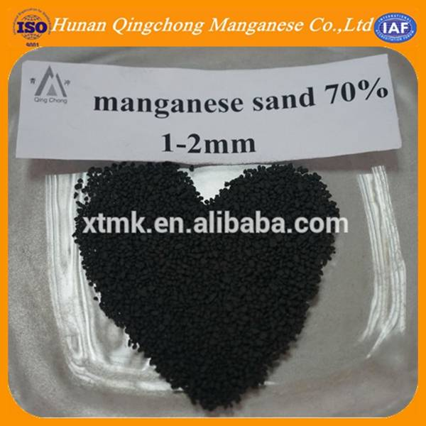 manganese greensand for water treatment