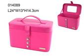 Delicate pink cosmetic box for special gift packing wholesale in Shantou