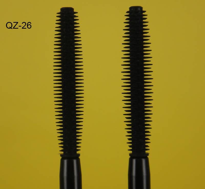 Retractable Kiss Beauty Mascara Eyelash Eyebrow Eyeliner Cosmetic Waterproof Brushes Wands QZ-26