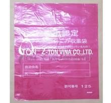 Color poly plastic bag