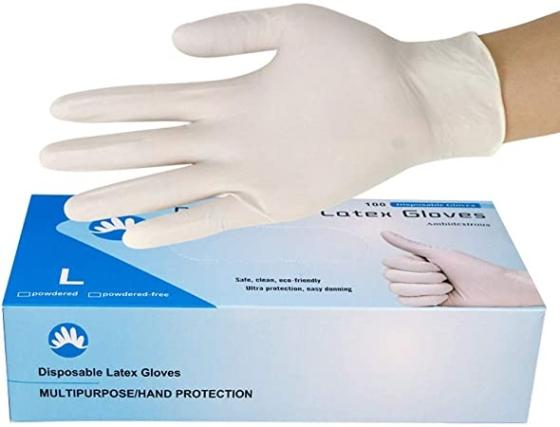 Disposable Syringe Latex Gloves Cheap Powdered Latex Gloves