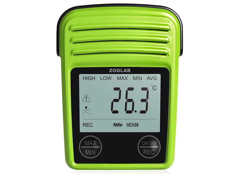 Portable Temperature and Humidity Data logger