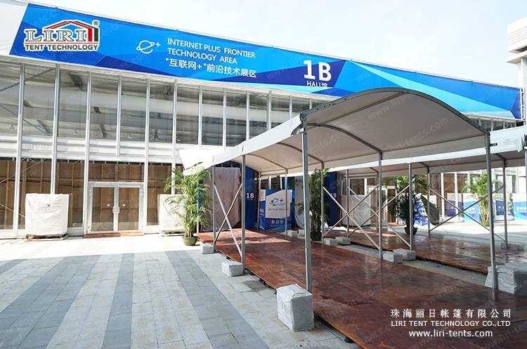 Hot sale aluminum frame VIP walkway tent for exhibition and events