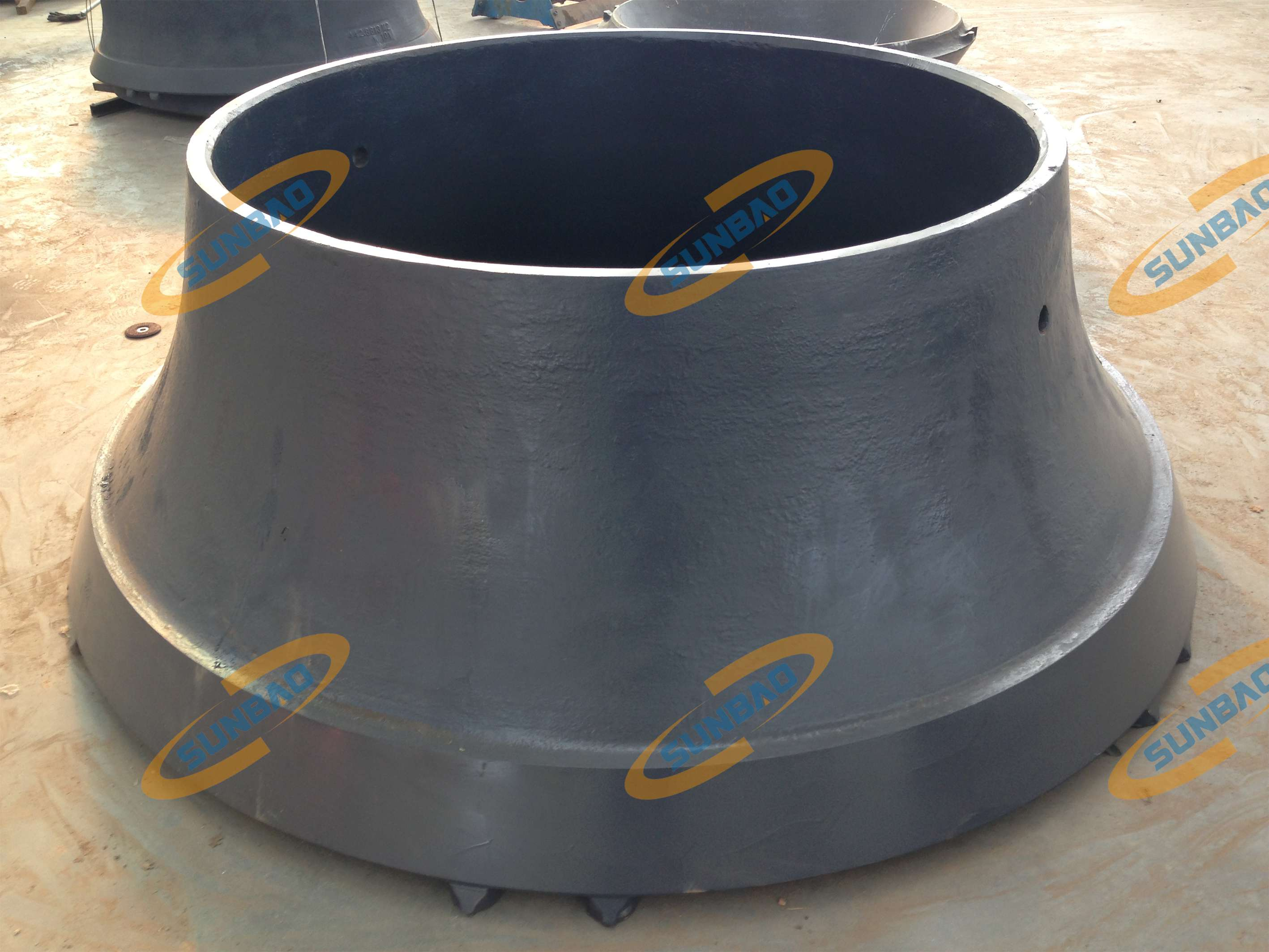 Manganese Wear Parts Bowl Liner Compatible with Cone Crusher