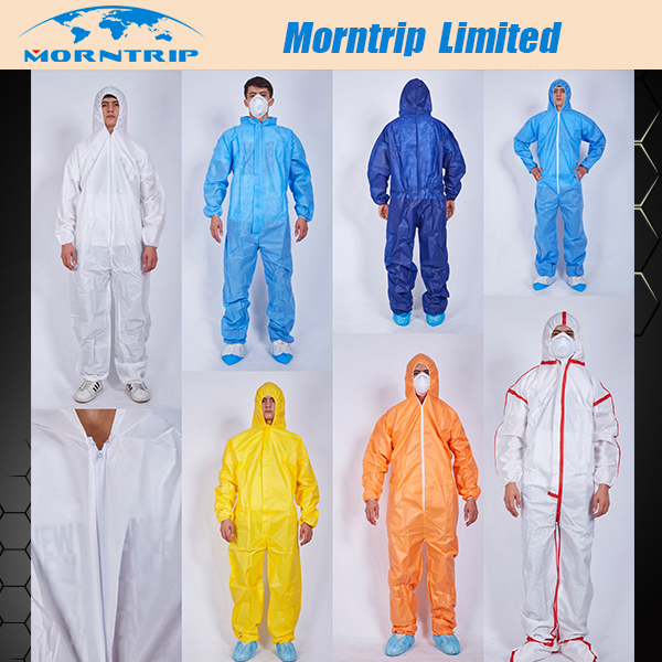 Best Selling Style Disposable Coverall from Wuhan Morntrip