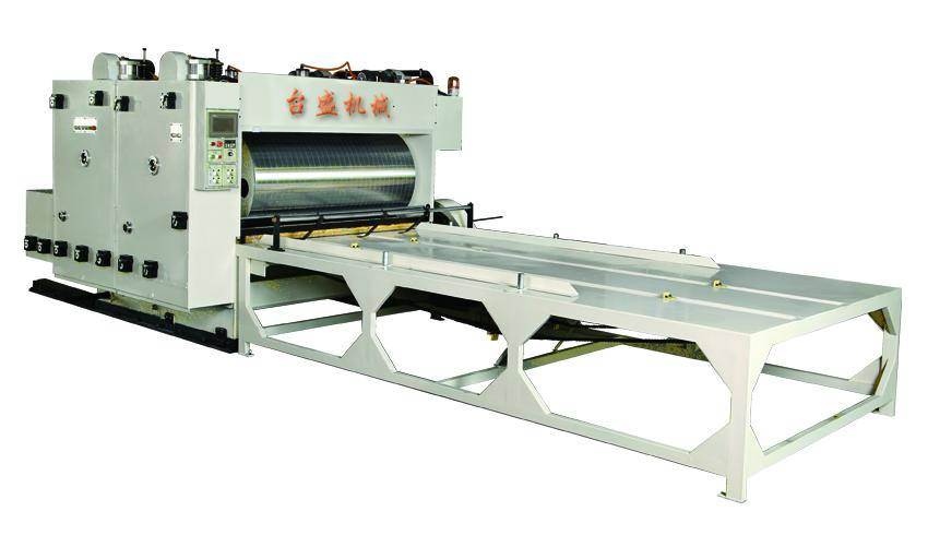 Double color ink printing machine