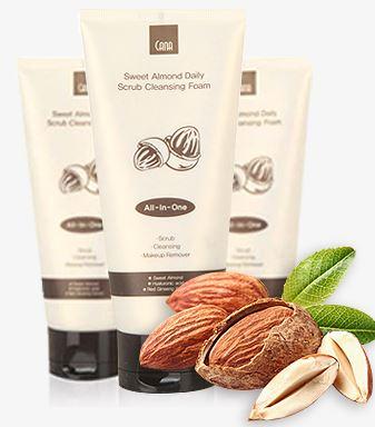 CANA Sweet Almond daily Scrub Foam