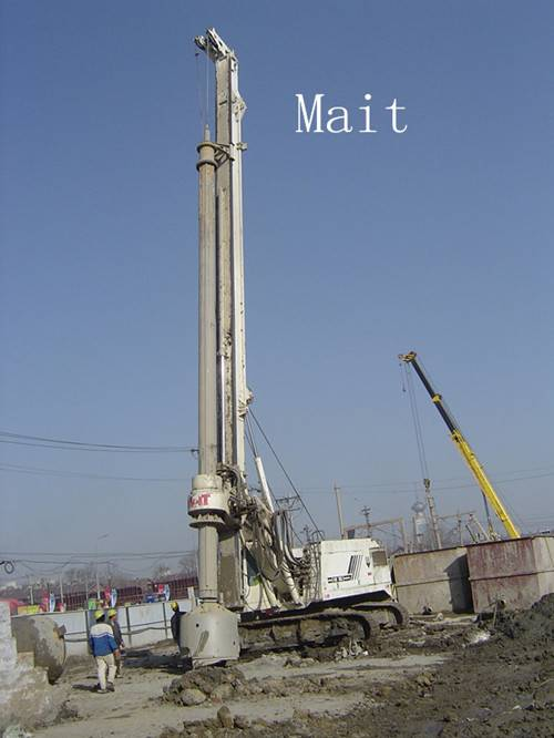 Mait 180 drilling rig kelly bar for bored piles