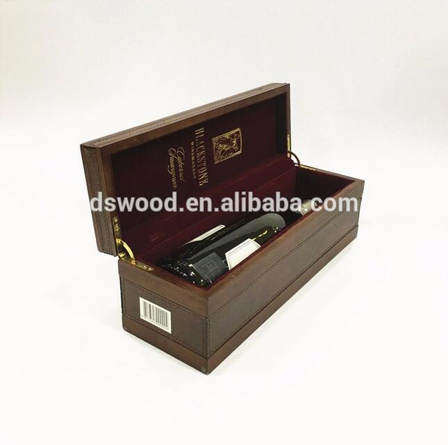 Luxury high quality fashion antique wooden wine boxes