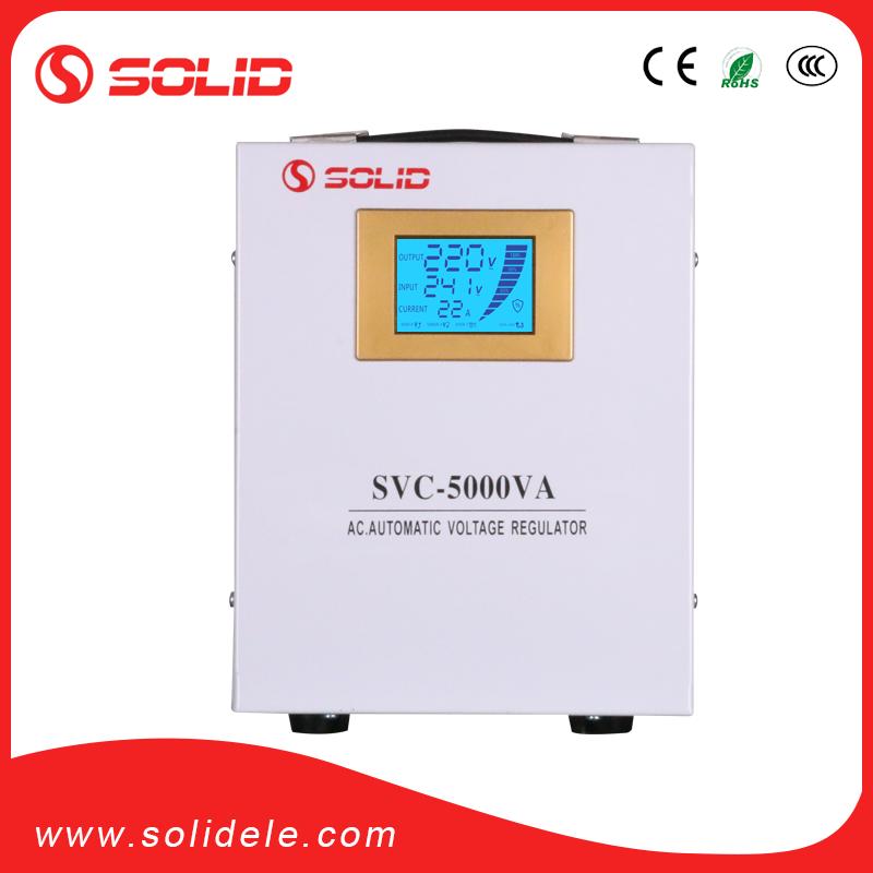 Solid electric 5kva voltage regulator