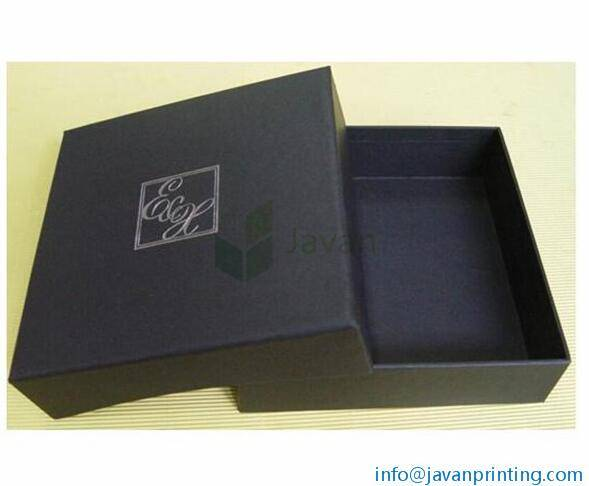 Black Garment Packaging Lids and Trays