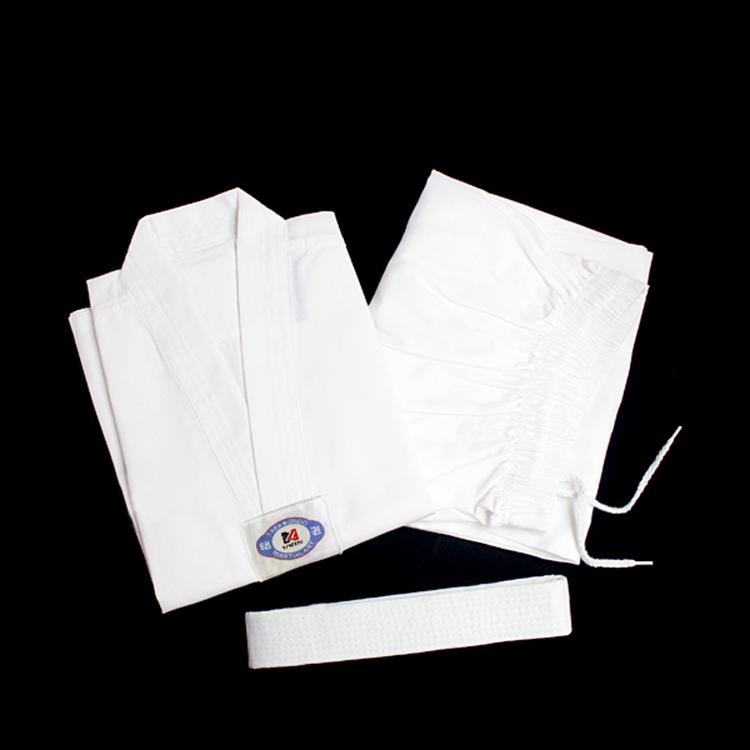white collar taekwondo uniforms white master kick boxing uniforms