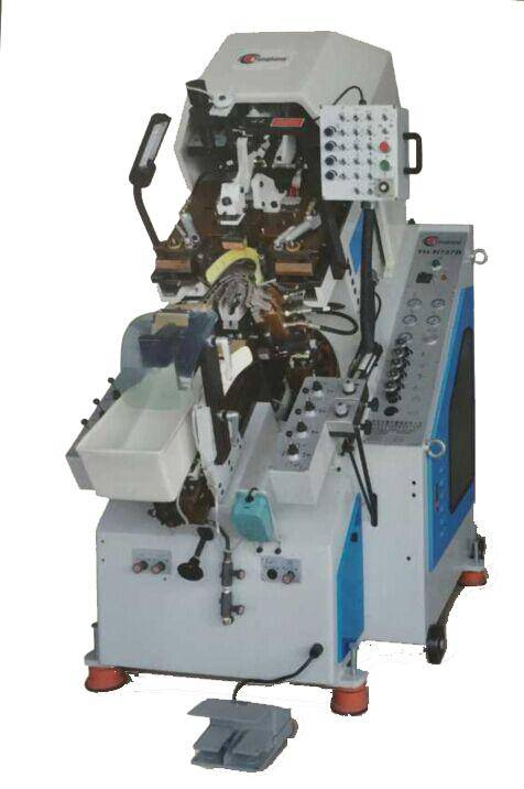YT-N737A Hydraulic Toe Lasting Machine With 9 Pincer