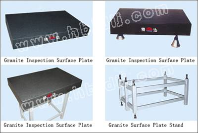 Granite surface plate