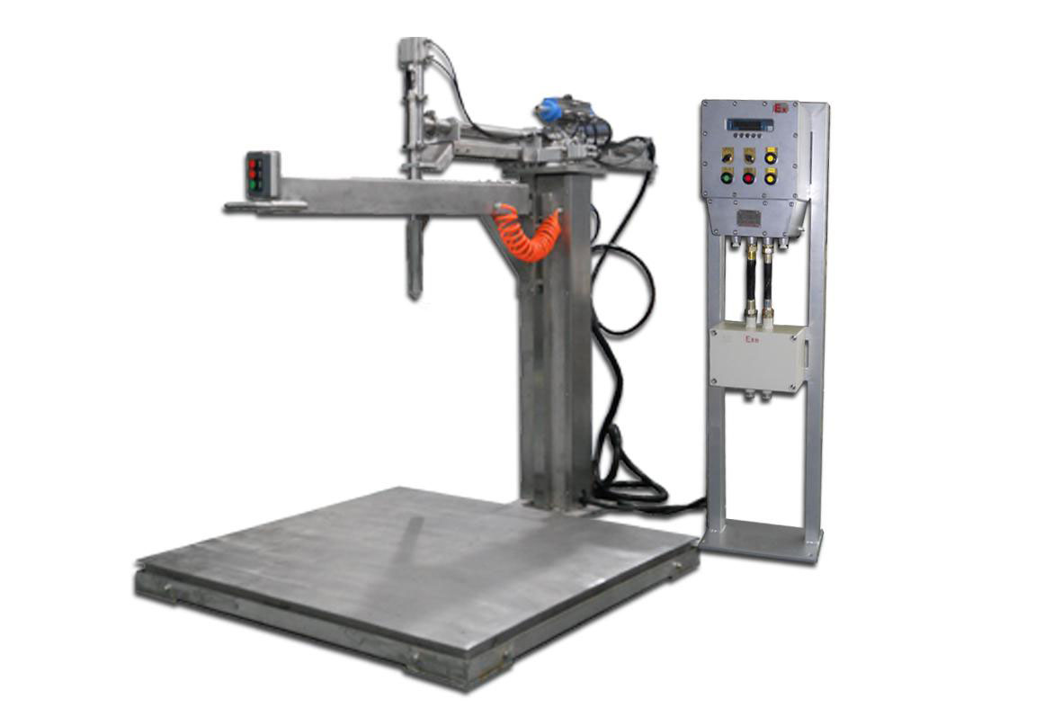 IBC and drum Filling Machine