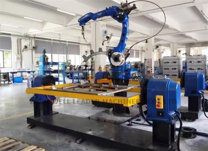 Head Tail Stock Rotary Welding Positioner Robot Servo Motor