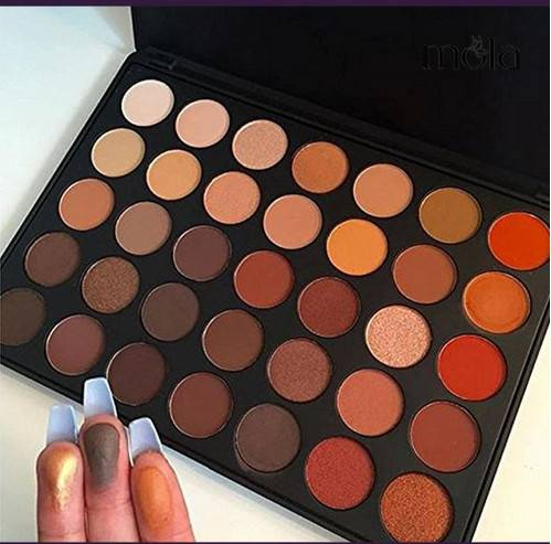 New hot 35 colors eyeshadow palette