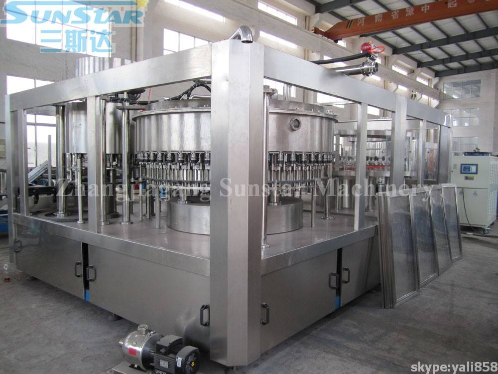 Soft Drink Making-Bottling-Packing Production Line (DCGF50-50-12)