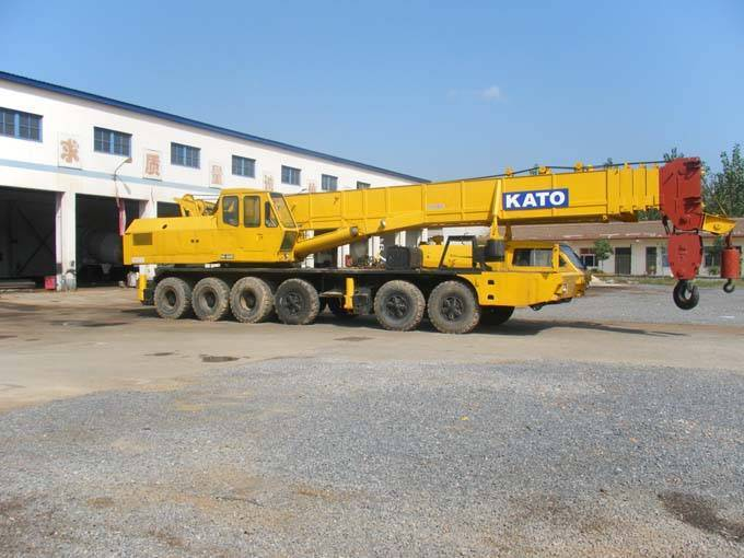 Kato nk800 used crane ,used kato mobile crane 80t