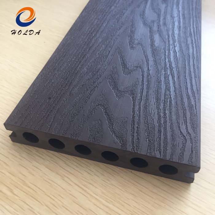 Customized Size WPC Fence Outdoor WPC Decking for Garden