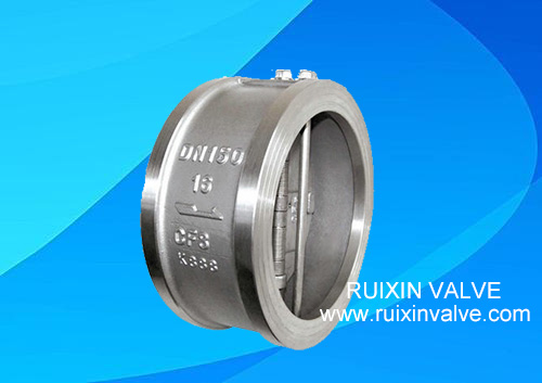 API 594 Double Disc Wafer Swing Check Valve