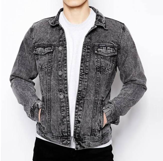 U'sake china supplier dongguan mens denim jeans jacket S191926