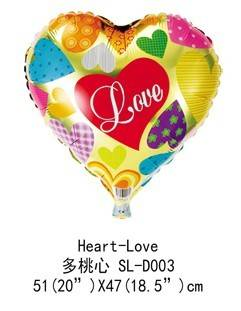 18inch cartoon mylar balloon