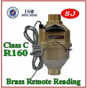 Volumetric Piston Brass Class C Water Meter LXH/FX-20A