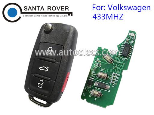 Volkswagen VW Touareg Remote Key 433Mhz(Euro)