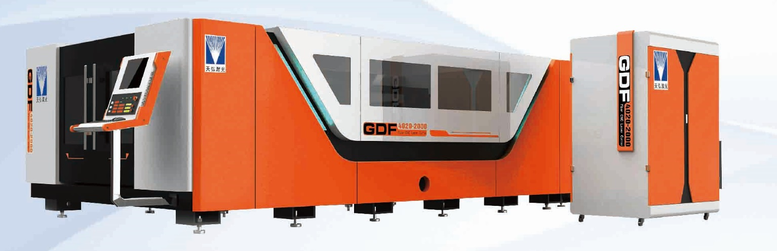 Fiber Laser Cutting Machine, Dual Exchangeable Tables, High Efficiency, GMC ISO9001:2008, CE