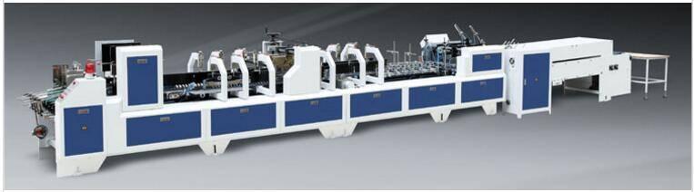LC-PCK auto high-speed 4-fold bottom lock gluing folding machine