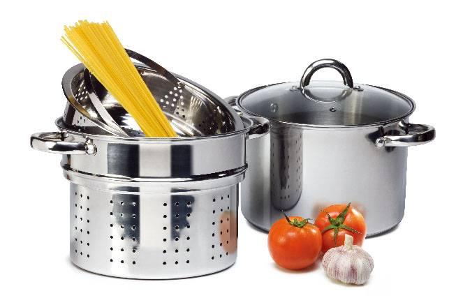 Pasta steamer set
