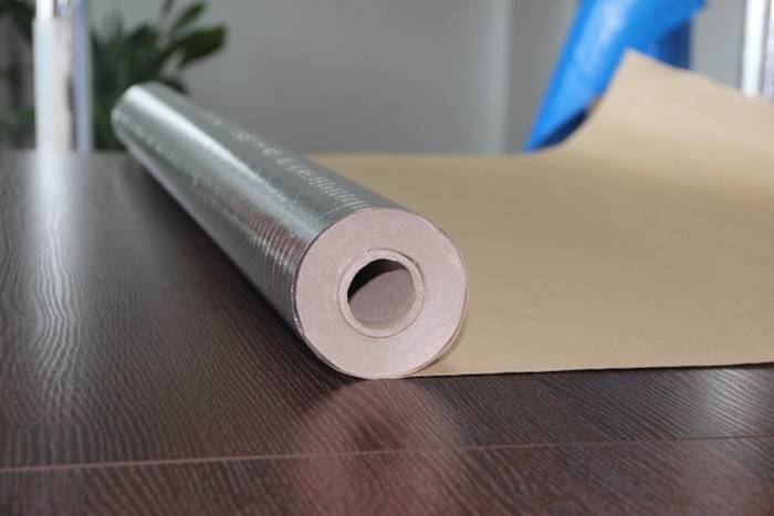 aluminum foil backing paper