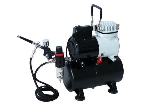Haosheng Makeup Airbrush Compressor Kit AF186K