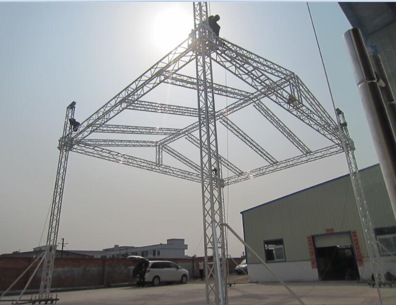 Spigot truss,aluminum truss performance show Lighting truss
